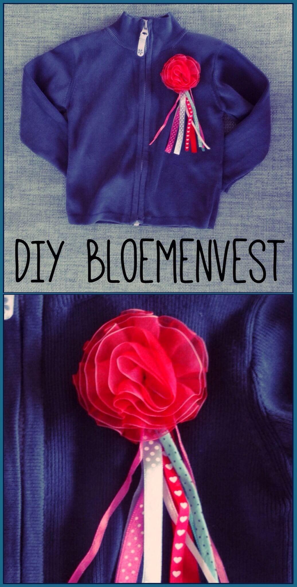 DIY bloemenvestje
