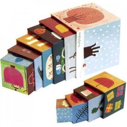 Verjaardagscadeau voor kids van 1 jaar: leuke cadeau tips voor een baby - janod stapelblokken