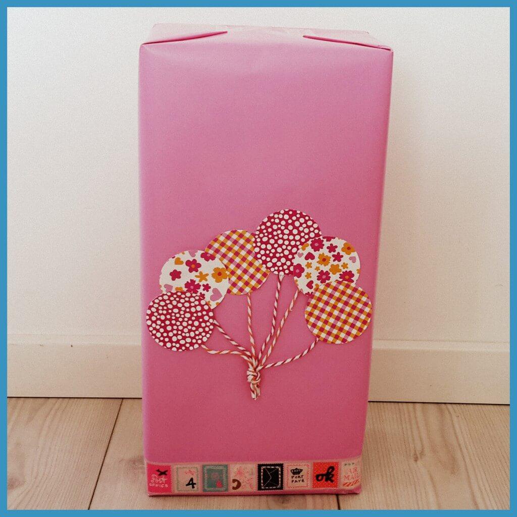 Cadeau inpakken idee n om samen te knutselen leuk met kids - Hoe een kamer van een kind te versieren ...
