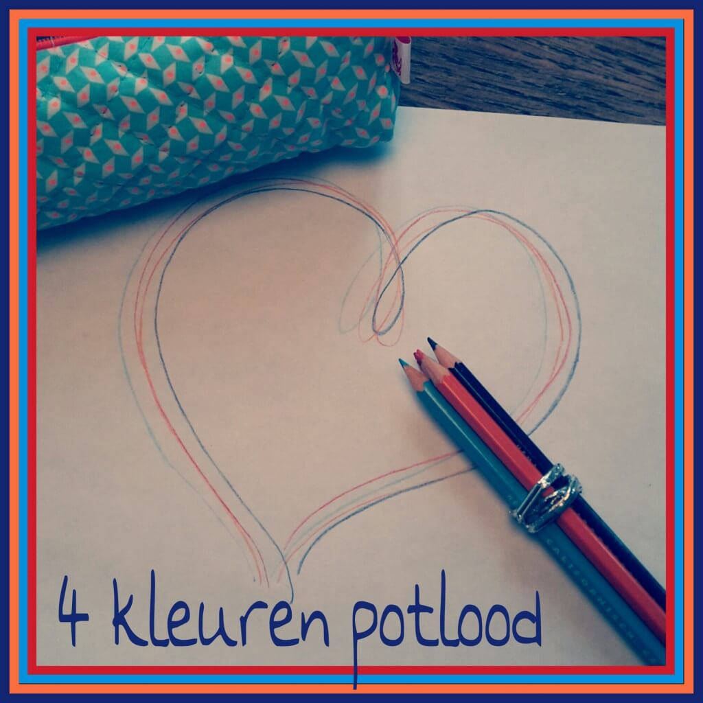 Tekenen met kinderen: 4 kleuren potlood