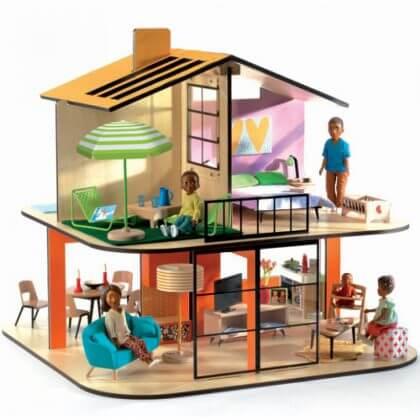 Verjaardagscadeau voor kids van 4 jaar of 5 jaar: leuke cadeau tips voor kleuters - Djeco poppenhuis