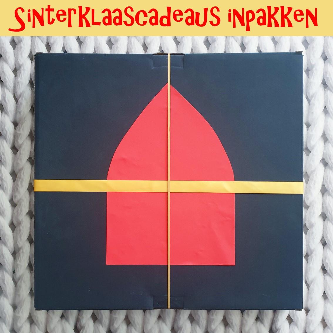 Sinterklaascadeaus inpakken: pakjes leuk versieren