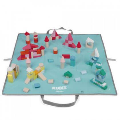 Cadeau ideeën voor kinderen die graag bouwen - janod kubix