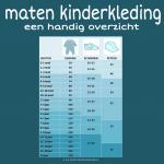 maten-kinderkleding-infographic-baby-dreumes-peuter-kleuter-basisschoolkind-tiener-kledingmaten-petten-schoenen-mutsen-overzicht