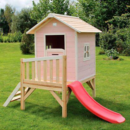 buitenspeelgoed cadeau voor peuter van 2 of 3 jaar: speelhuisje