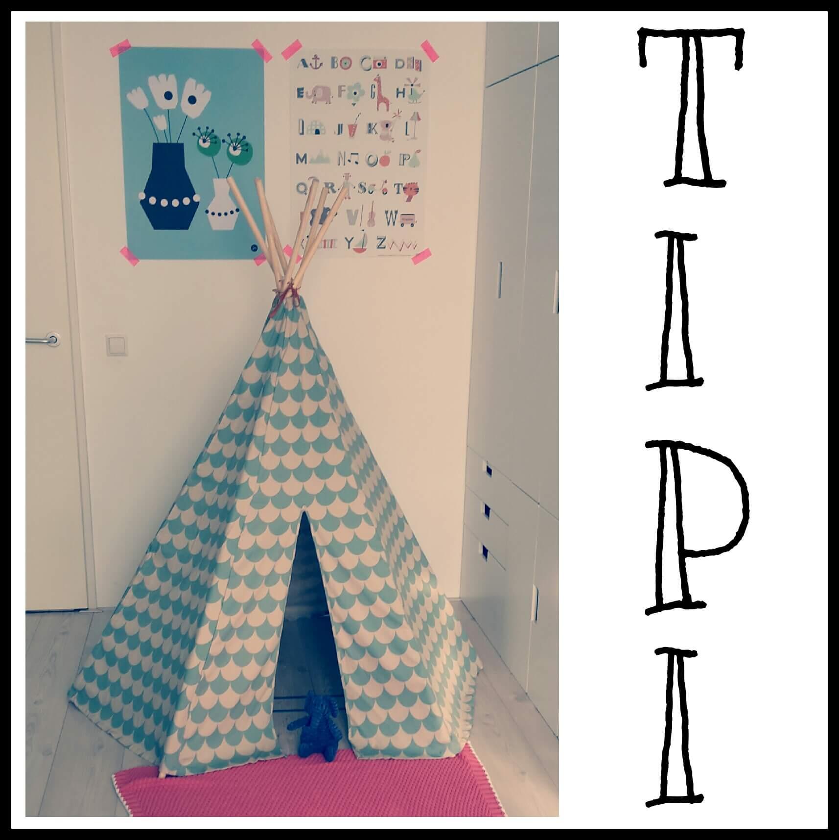 Shopping: tipi tenten voor kinderen