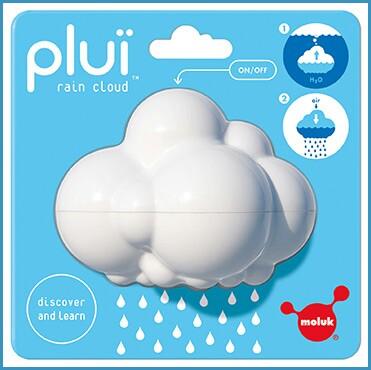 Speelgoedtip: regenwolkje voor in het (zwem)bad