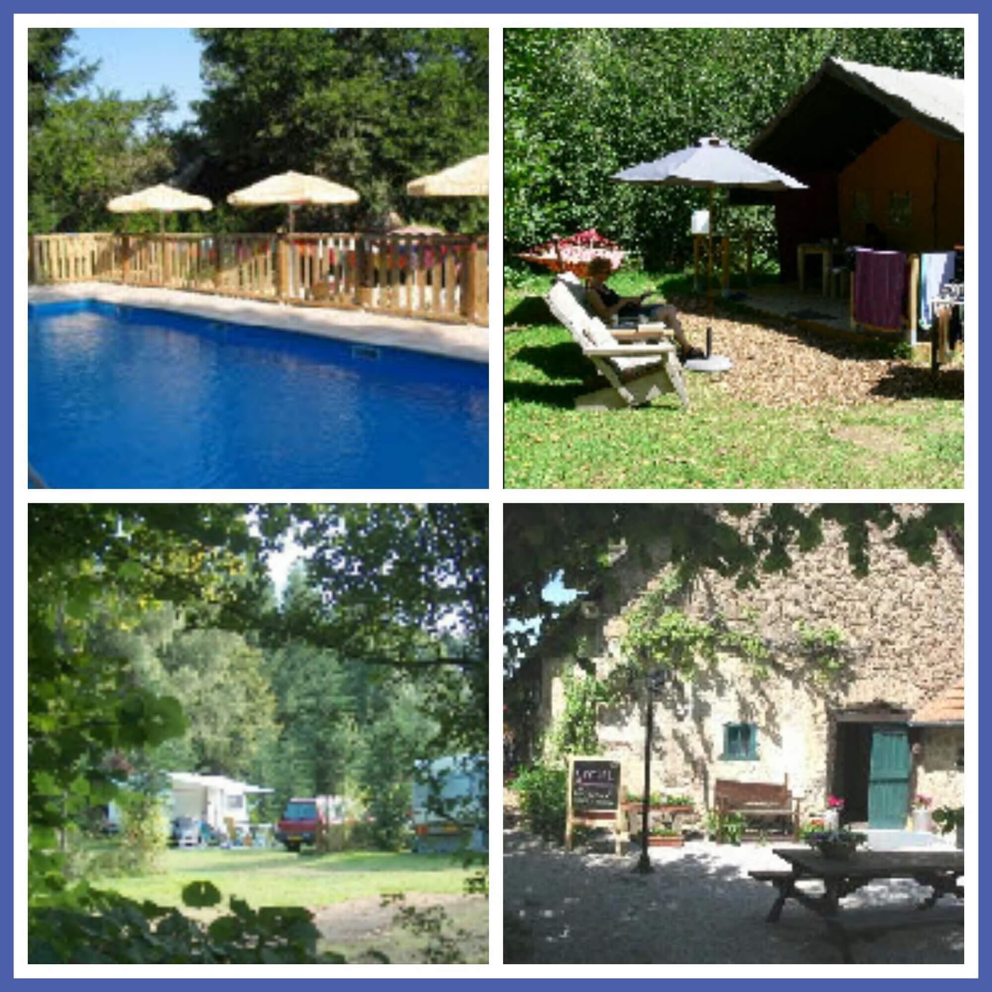 101 leuke idyllische campings in Frankrijk met kids - Camping Chantegril