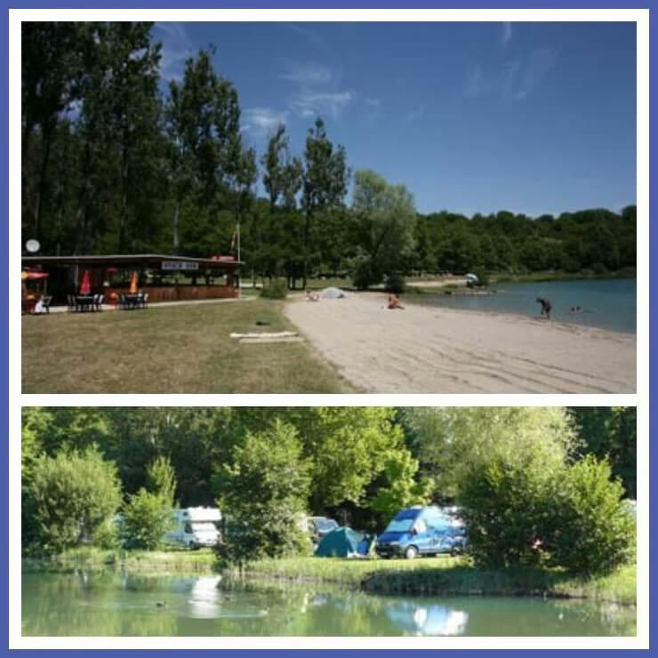 101 leuke idyllische campings in Frankrijk met kids - Camping du Lac
