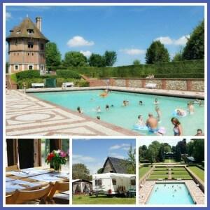 101 leuke idyllische campings in Frankrijk met kids - camping le Colombier Frankrijk, Normandië, Pays d'Auge