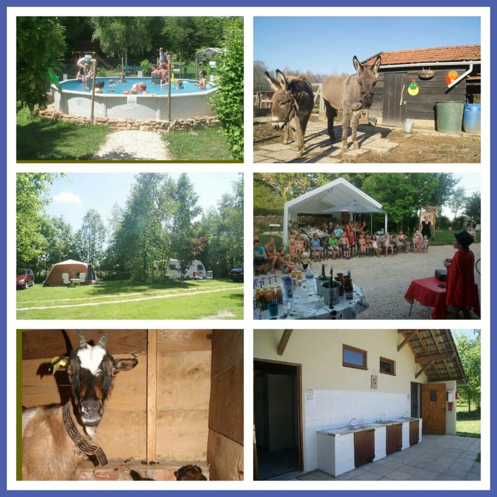 101 leuke idyllische campings in Frankrijk met kids - Camping les Arbois, Saône-et-Loire