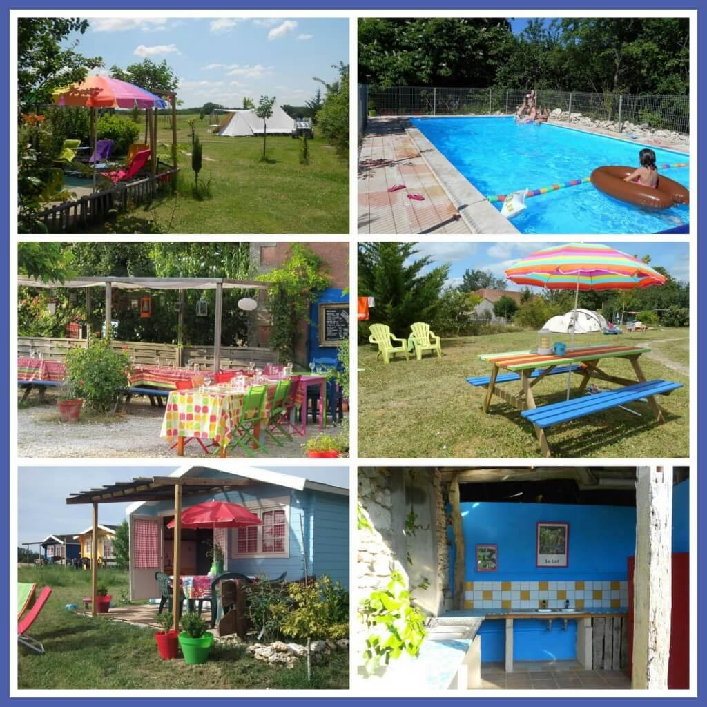 101 leuke idyllische campings in Frankrijk met kids - Camping les Escaliers, Saint-Matré, Lot, Midi-Pyrénées