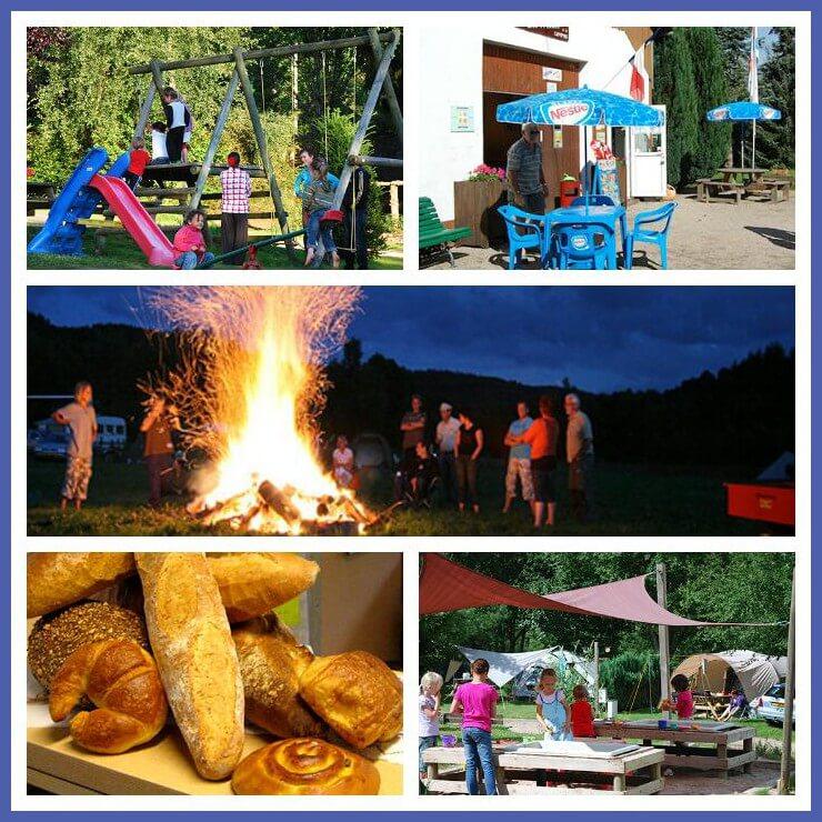 101 leuke idyllische campings in Frankrijk met kids - Camping les Trexons