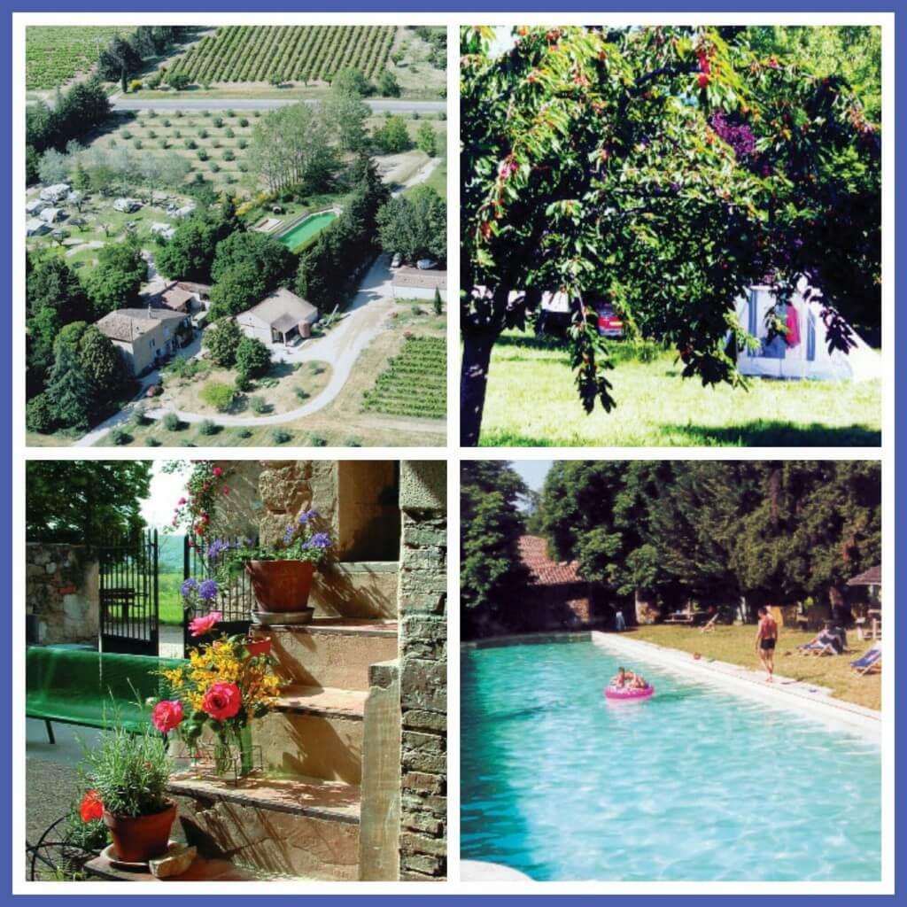 101 leuke idyllische campings in Frankrijk met kids - Camping Lou Badareu, Luberon, Provence,