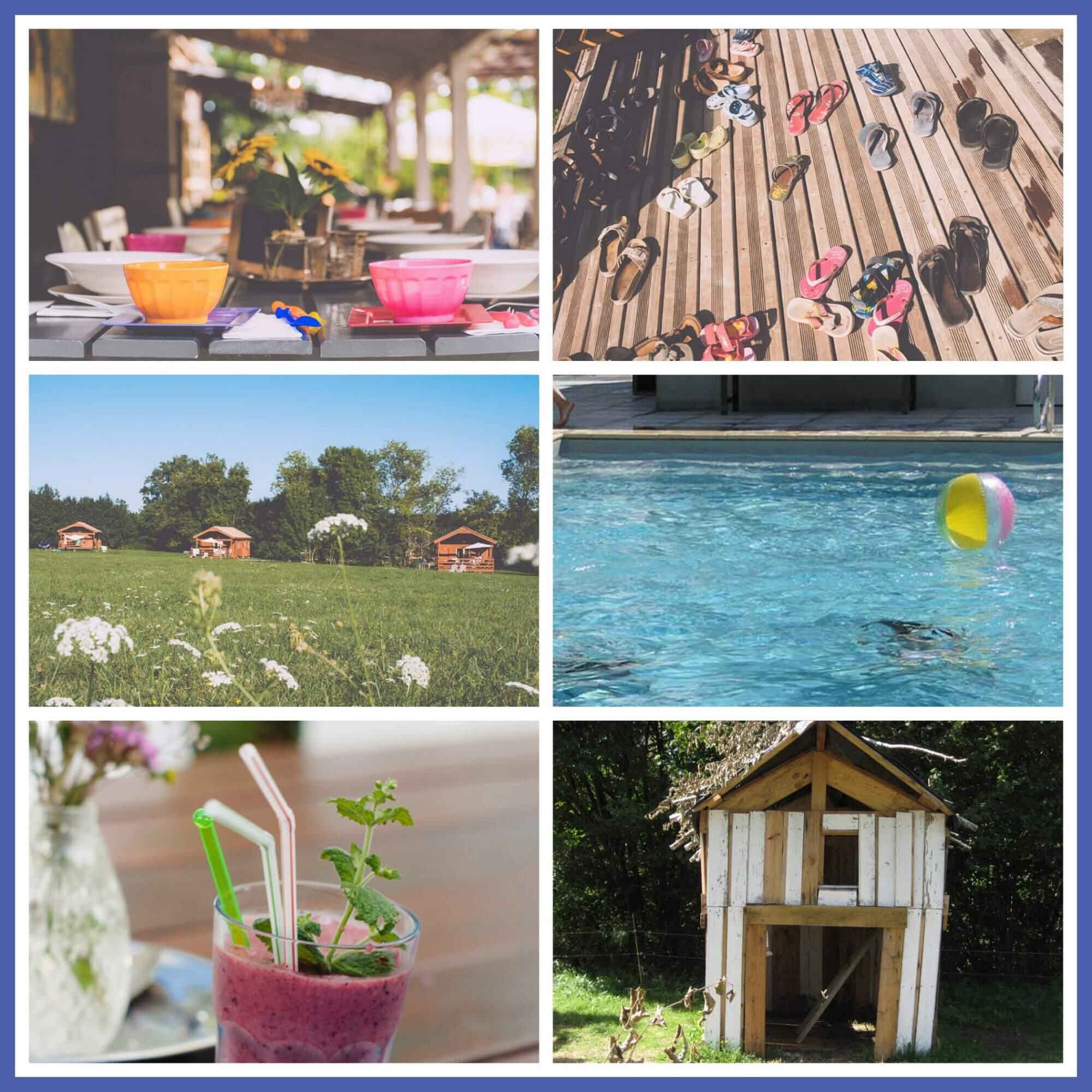101 leuke idyllische campings in Frankrijk met kids - Club les Ormes