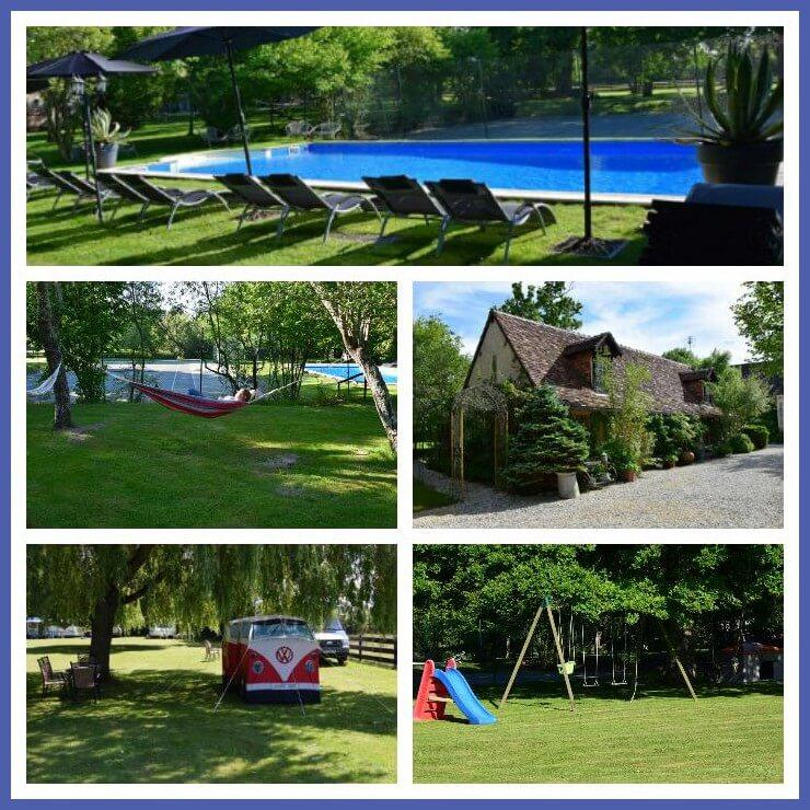 101 leuke idyllische campings in Frankrijk met kids - Maison Voila Indre