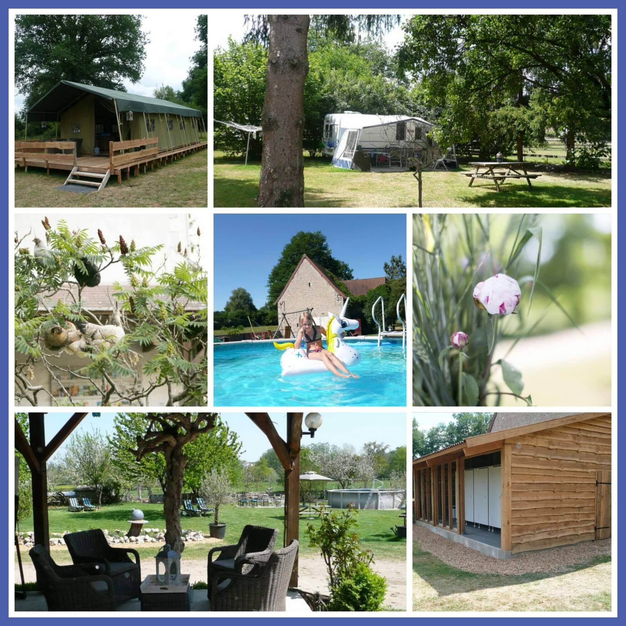 101 leuke idyllische campings in Frankrijk met kids - Domaine la Terrasse