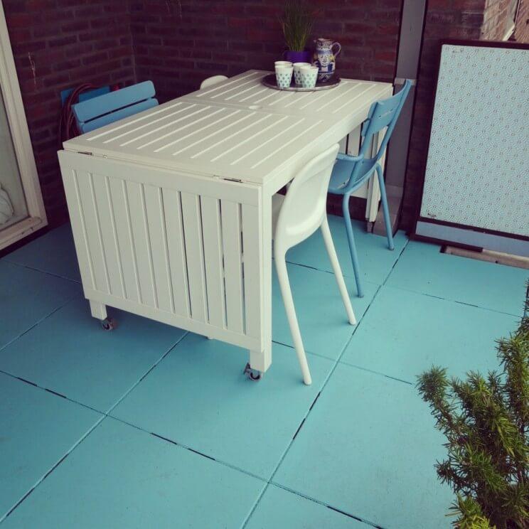 Betonverf om je balkon of terras te pimpen