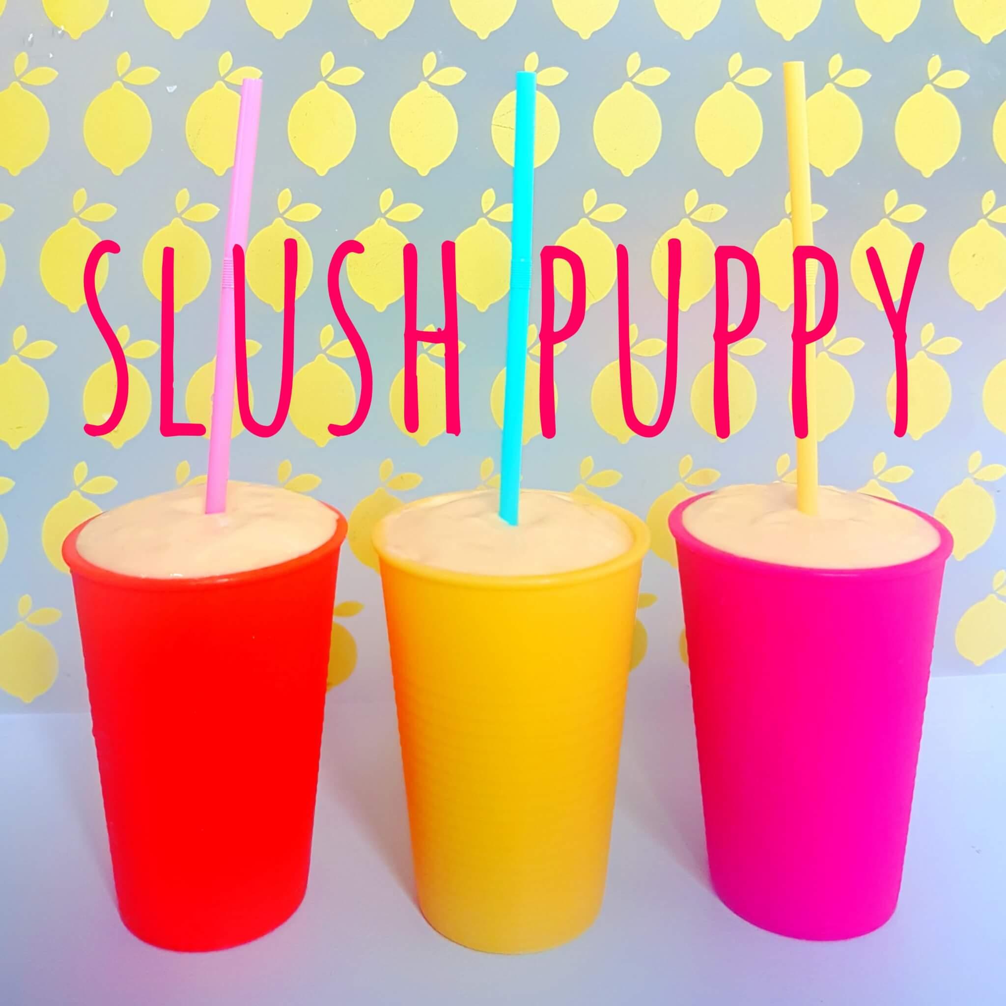 Slush puppy en schepijs: een gezond recept