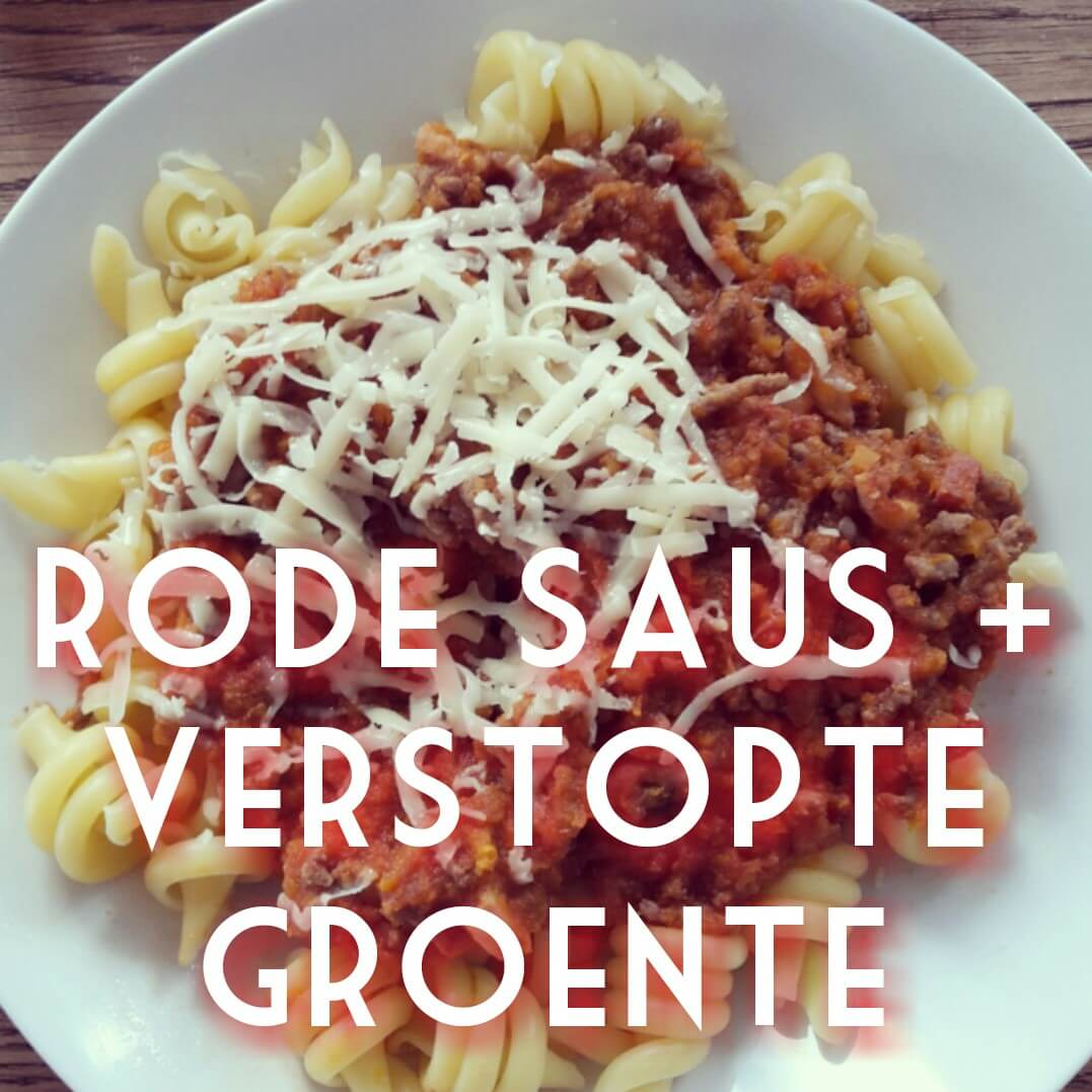 Pasta per bambini: recept voor pastasaus met heel veel verstopte groenten