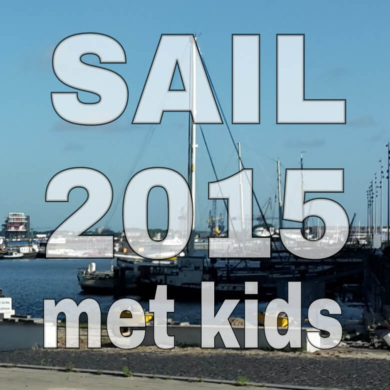 SAIL 2015 met kids