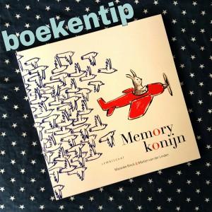 Boekentip: Memorykonijn, boek en spel ineen