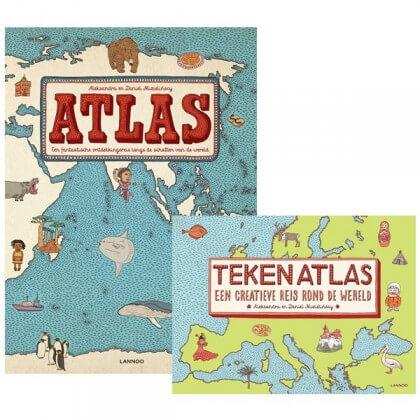 atlas en tekenatlas