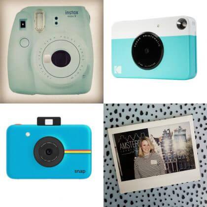 Instax camera van Polaroid, Fujifilm of Kodak - Verjaardagscadeau voor kids van 6, 7 of 8 jaar: leuke cadeau tips voor de kinderen