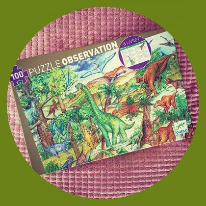 Djeco puzzel dinosaurus - leuke schoencadeaus