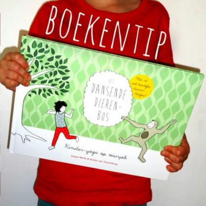 Boekentip voor kinderyoga met CD Het Dansende Dierenbos