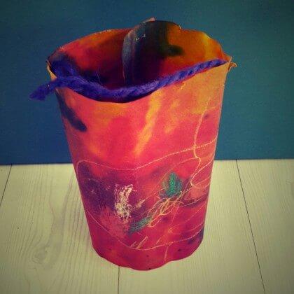 Mooie lantaarn of lampion voor Sint Maarten knutselen voor kinderen - DIY Lantern crafting for kids