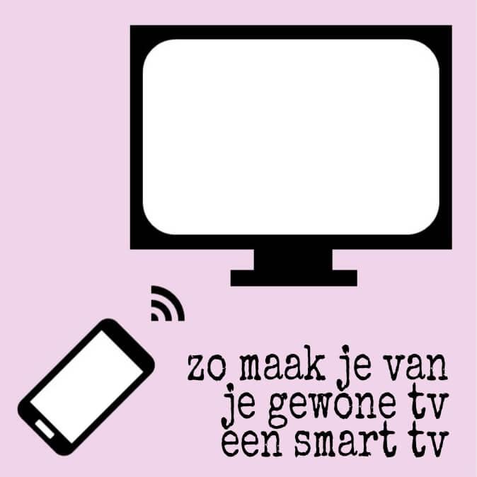 Zo maak je van je gewone tv een smart tv met een Chromecast