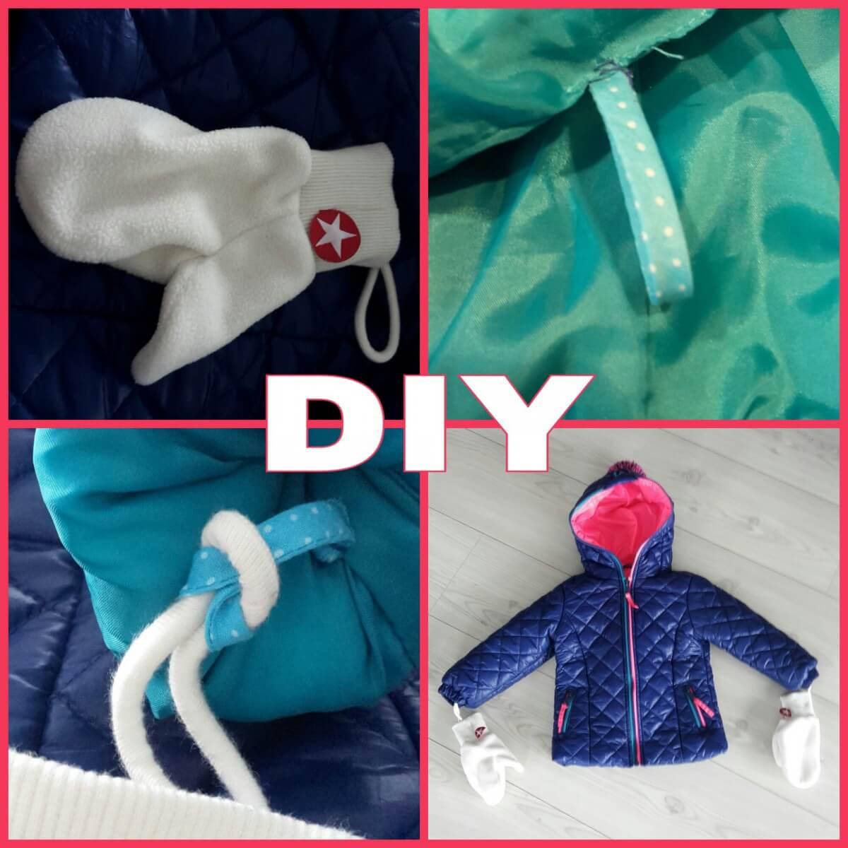 DIY: lusjes voor handschoenen aan de winterjas