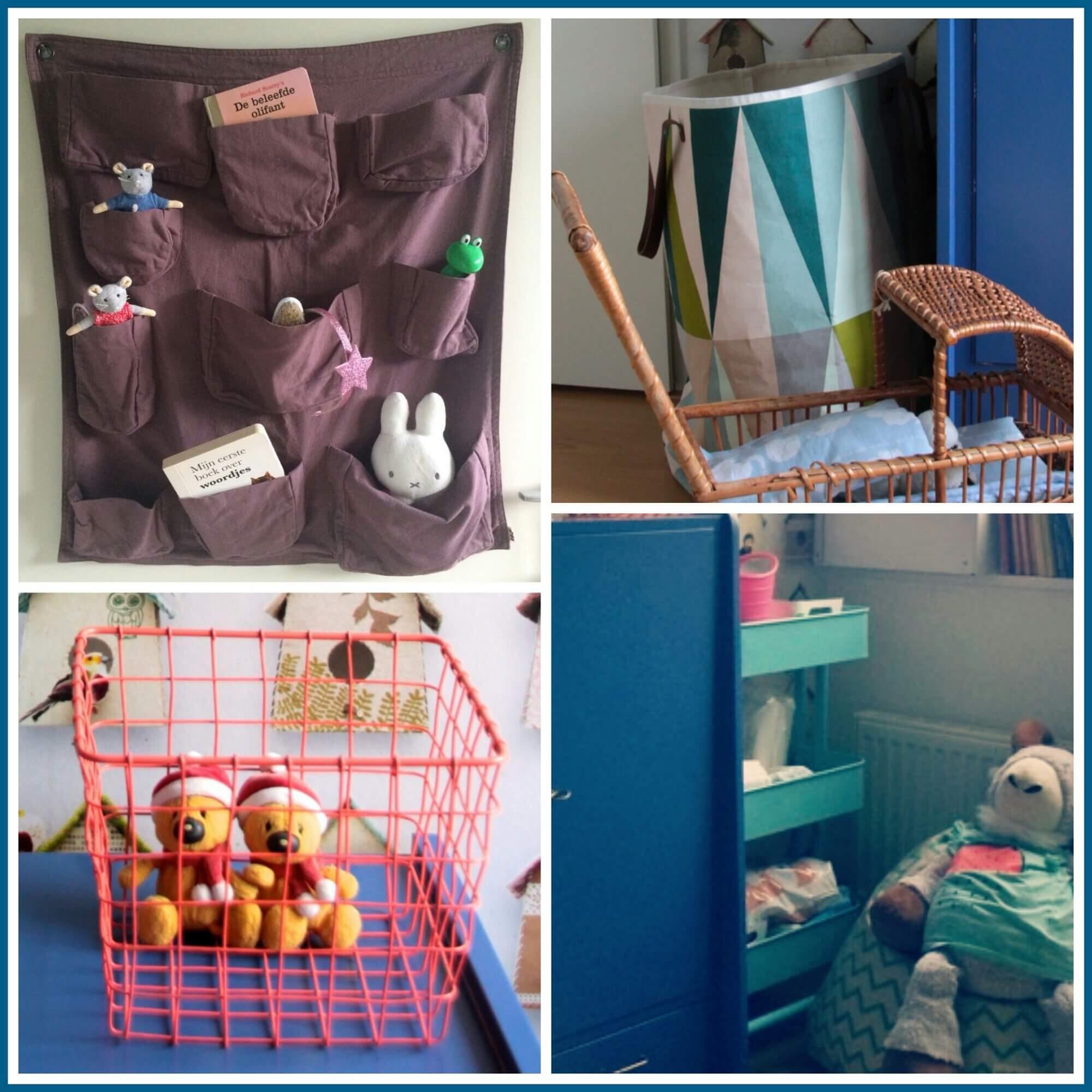 Blauw idee kinderkamer - Kinderkamer grijs en roze ...