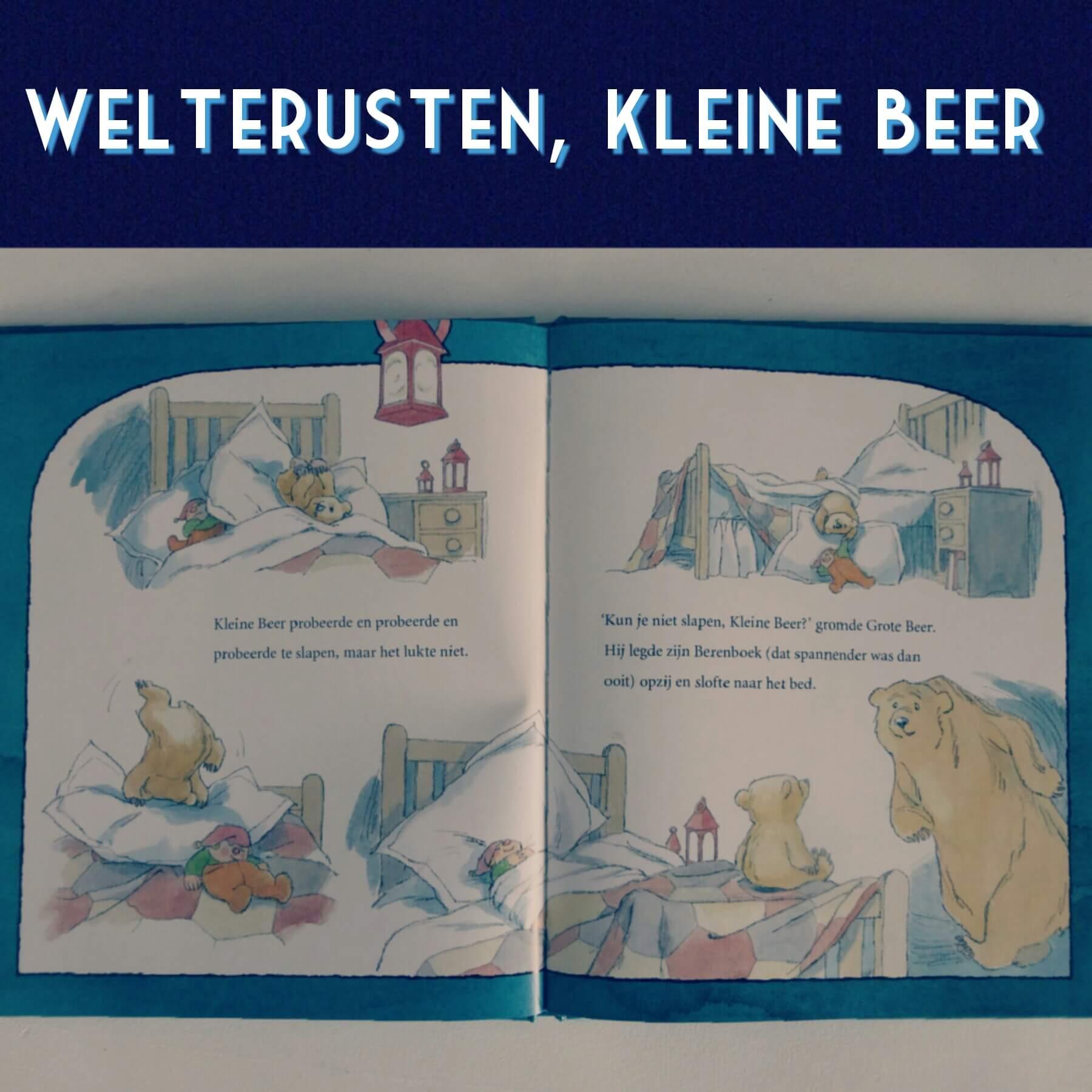 Boekentip: Welterusten Kleine Beer, voor kinderen die bang zijn in het donker