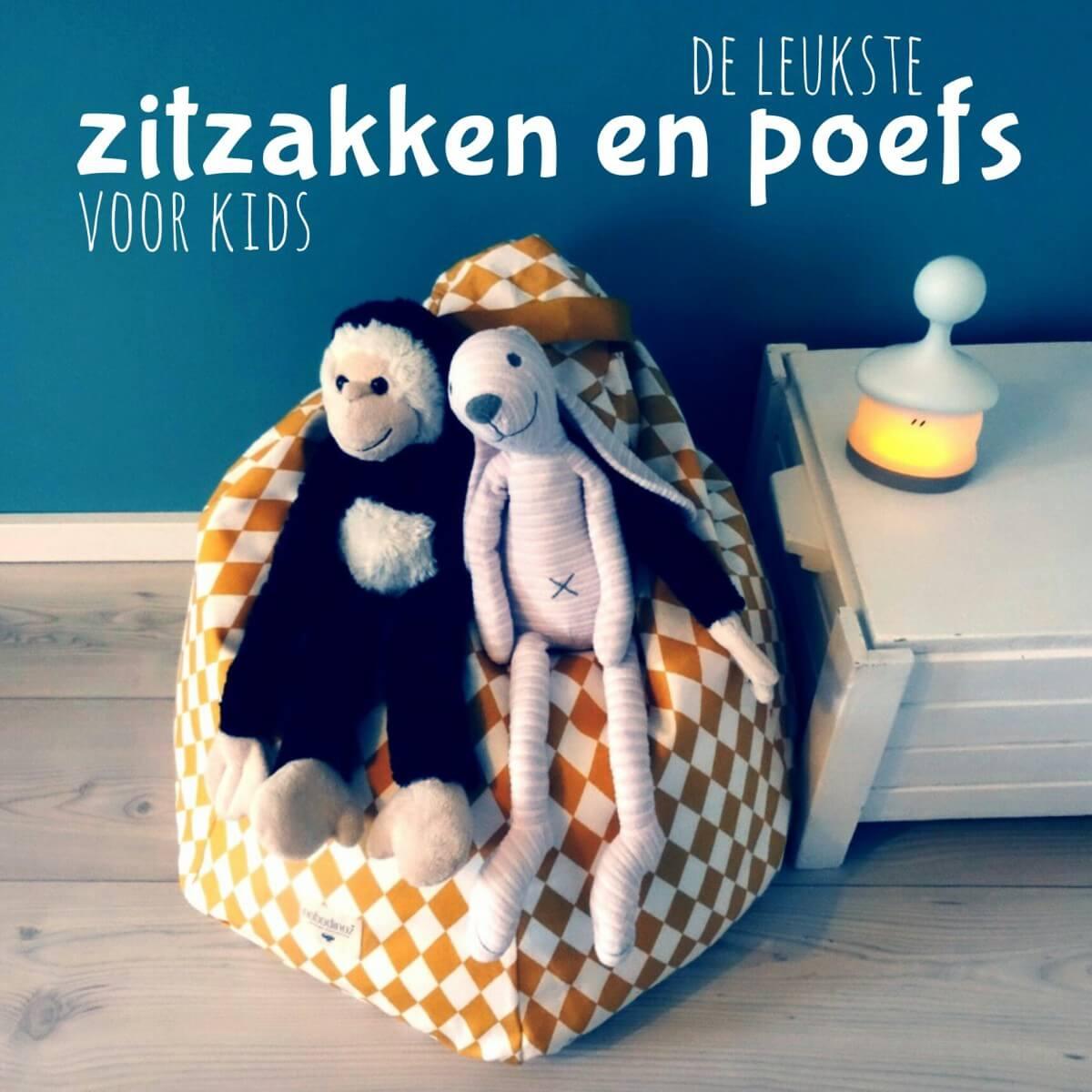 Voor jou gespot: de allerleukste zitzakken en poefs voor kinderen