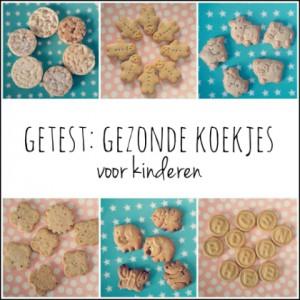 Voor jou getest: gezonde koekjes van de supermarkt voor kinderen