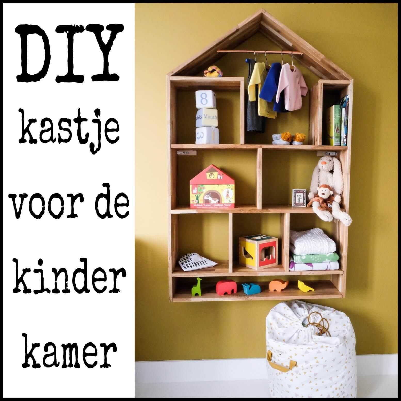 DIY kastje voor de kinderkamer of babykamer