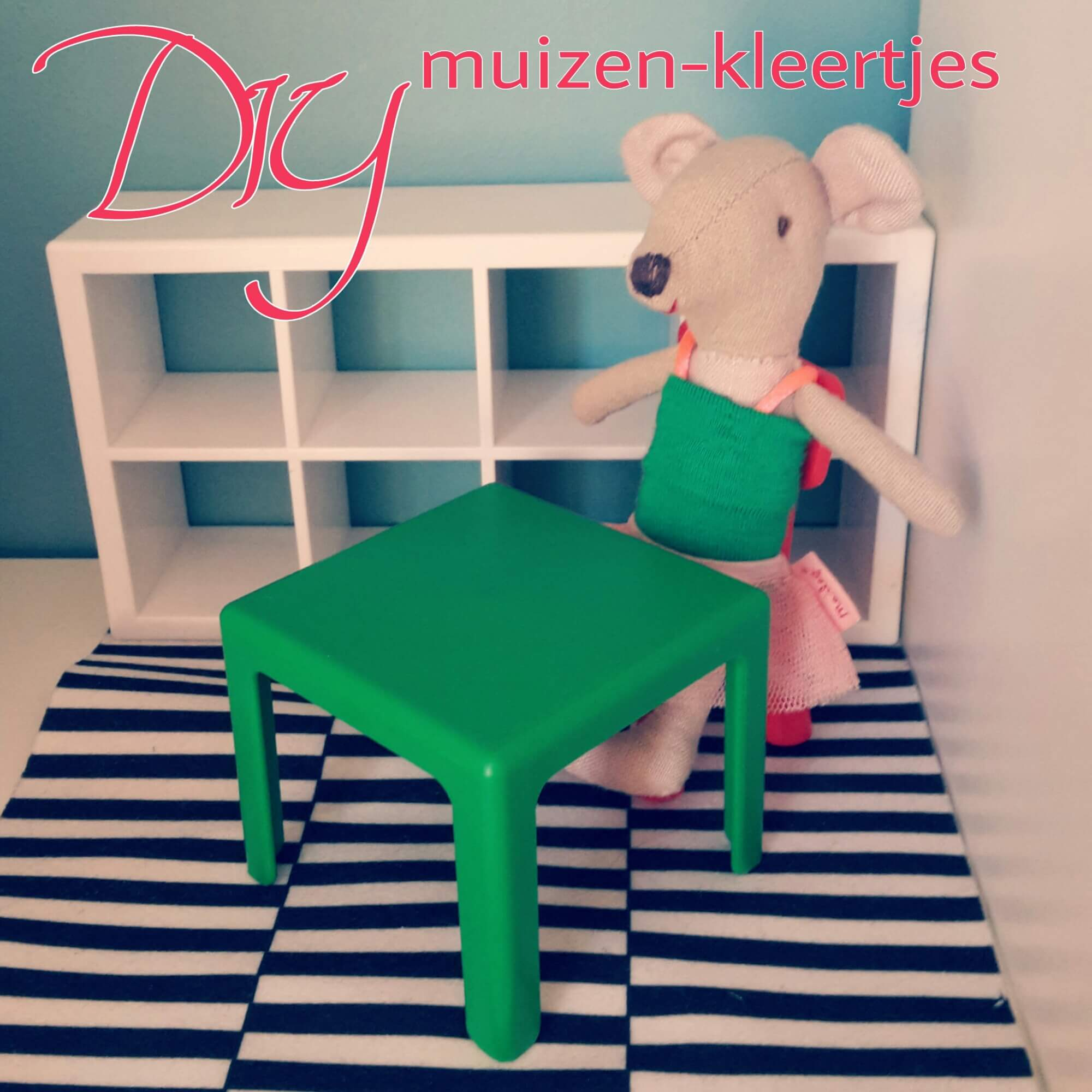 Net als in het Muizenhuis: zo maak je kleertjes voor de knuffels supersnel zelf, Maileg muis