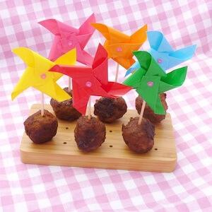Picknicken met kinderen lekkere recepten - ketjap gehakt spiesje