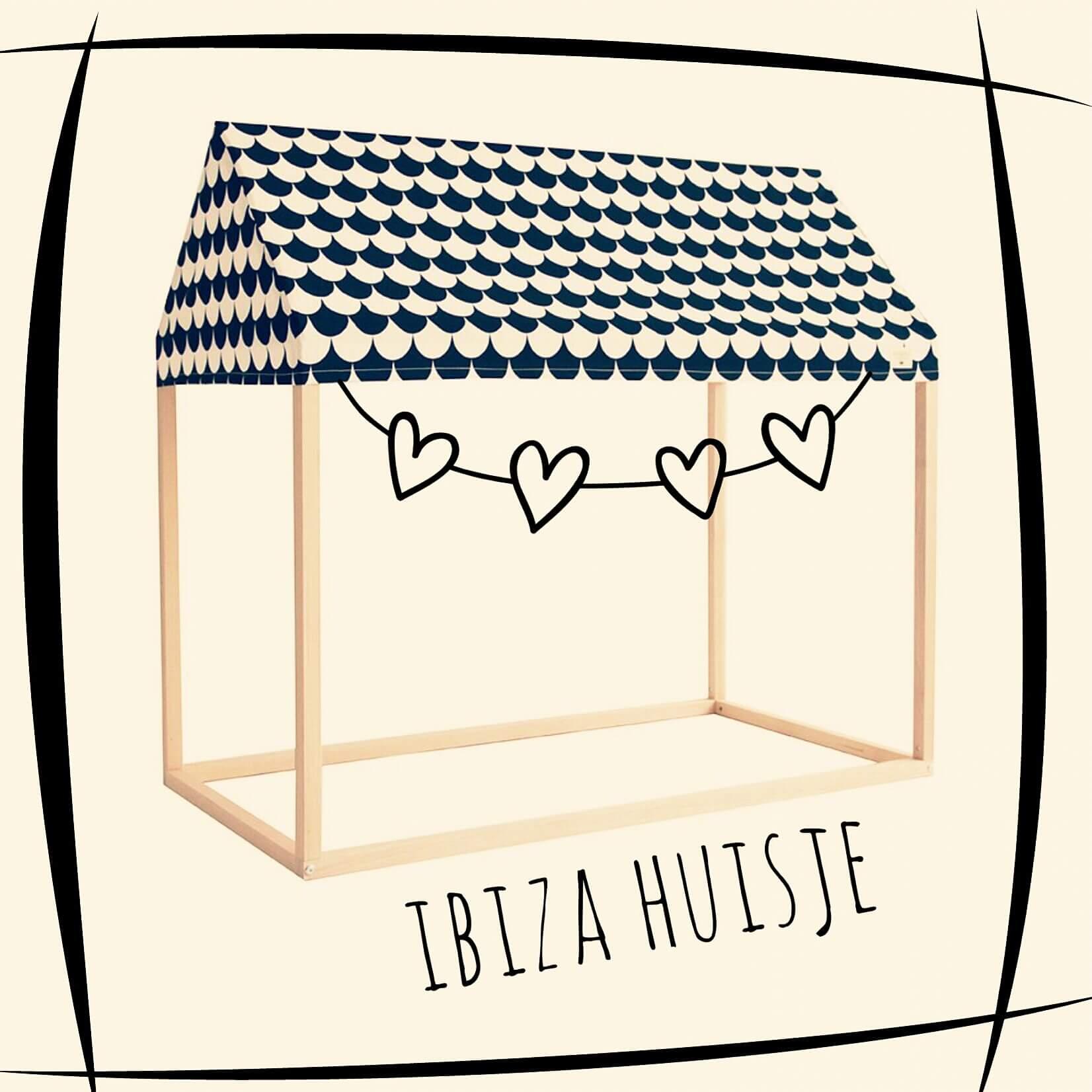 Gespot: Ibiza speelhuisjes van Nobodinoz