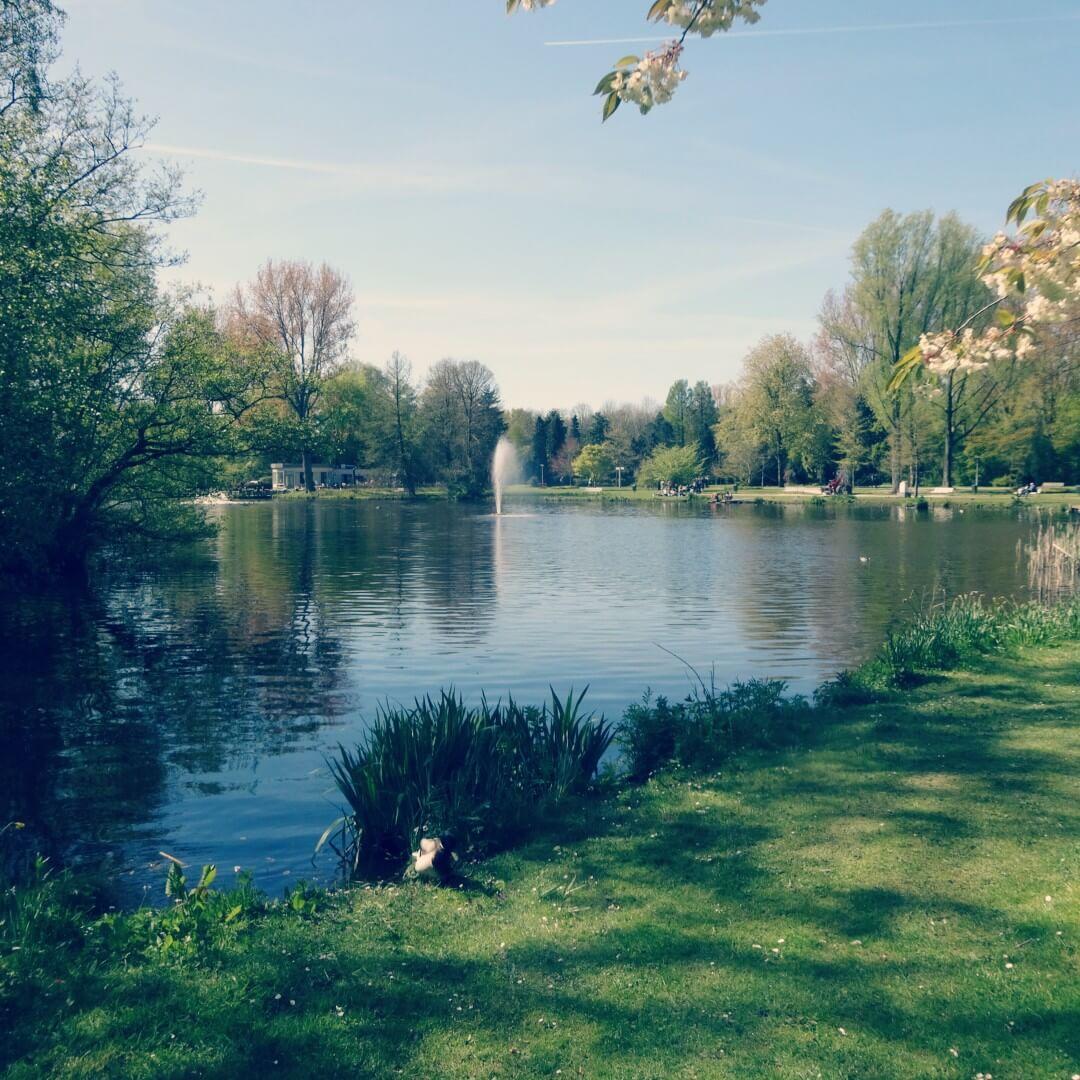 Amstelpark: speeltuin, kinderboerderij, pannenkoek & wandeling aan de rand van Amsterdam - met Thomas de Trein