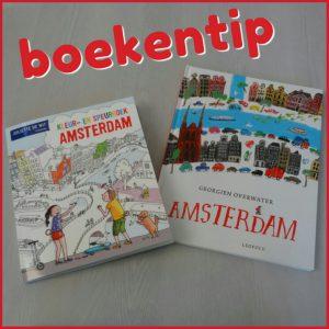 Boekentips Amsterdam: een verhalenboek en een kleurboek om de stad te beleven