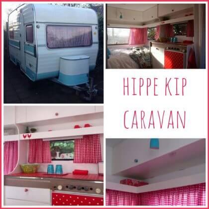 Kijk mee in de hippe Kip met heel inspiratie voor een gepimpte caravan 1