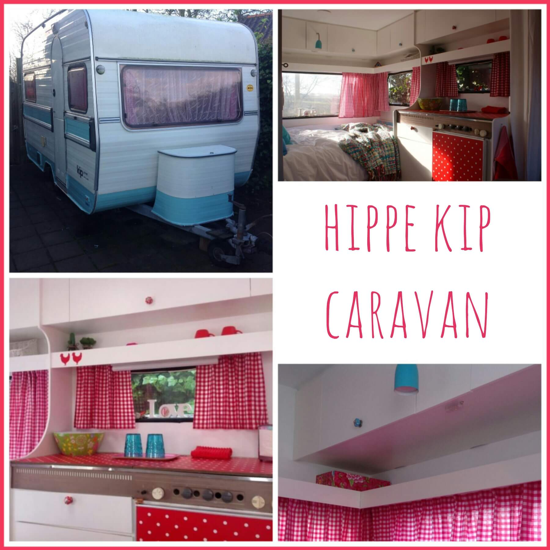 Kijk mee in de hippe Kip met heel inspiratie voor een gepimpte caravan