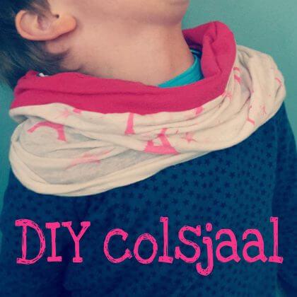 DIY: een hippe colsjaal zelfmaken
