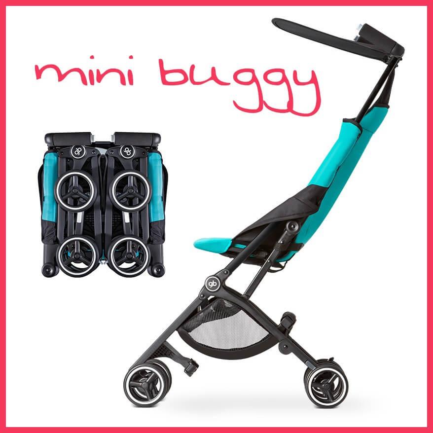 Goodbaby Pockit: Deze buggy is ingeklapt wel heel erg klein