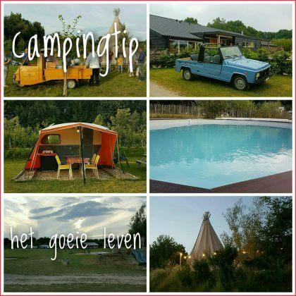 Een overzicht van heel veel leuke idyllische campings in Nederland met kids #leukmetkids Camping tip Het Goeie Leven sfeervol met zwembad in Nederland Brabant
