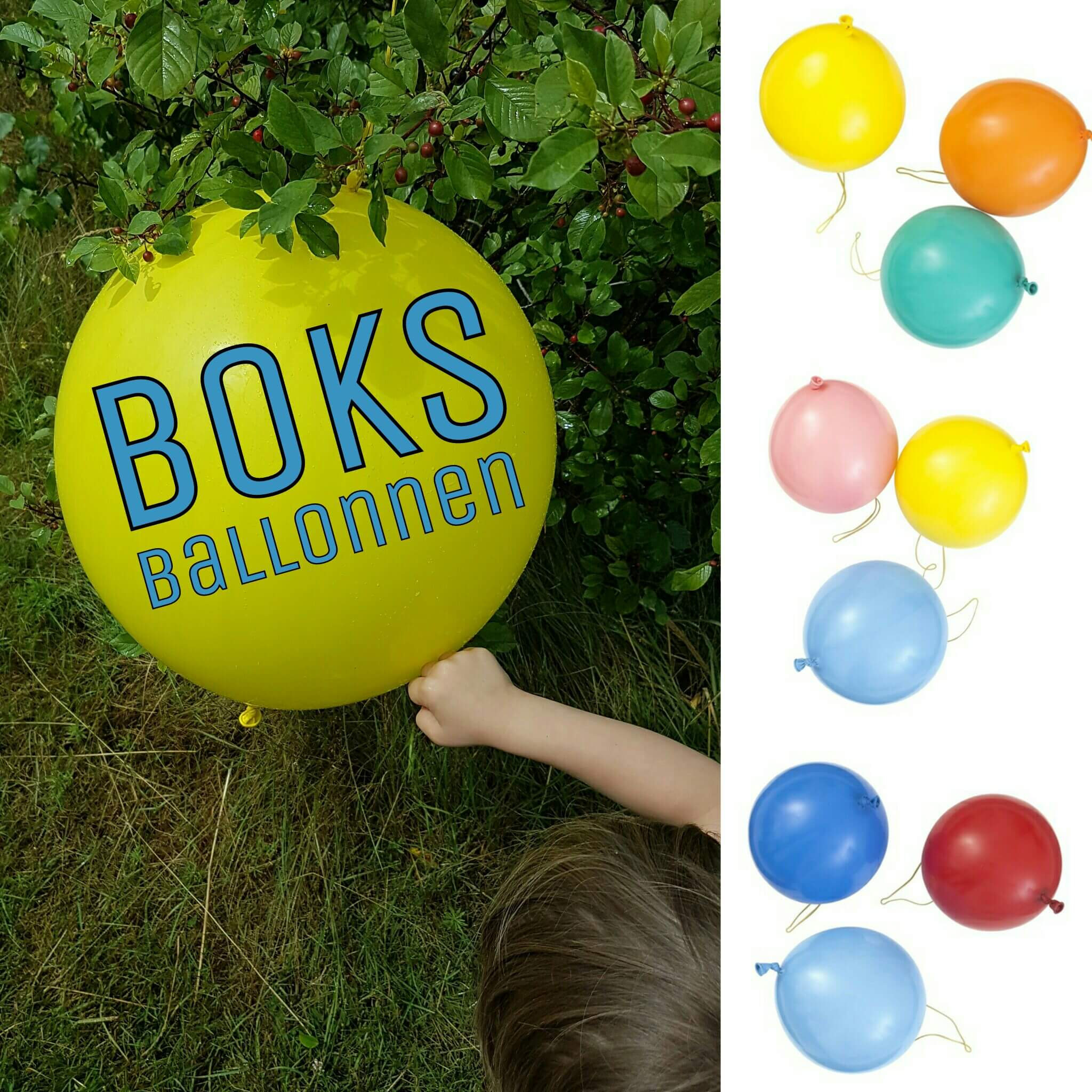 boks ballonnen
