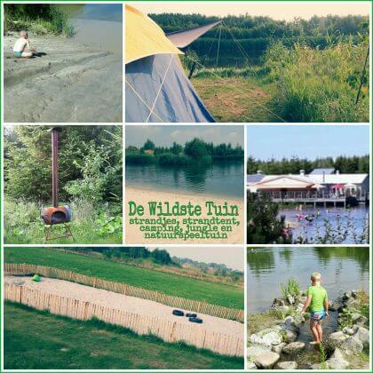 De Wildste Tuin: park met zwemstrandjes, strandtent, camping, natuurspeeltuin en bamboejungle